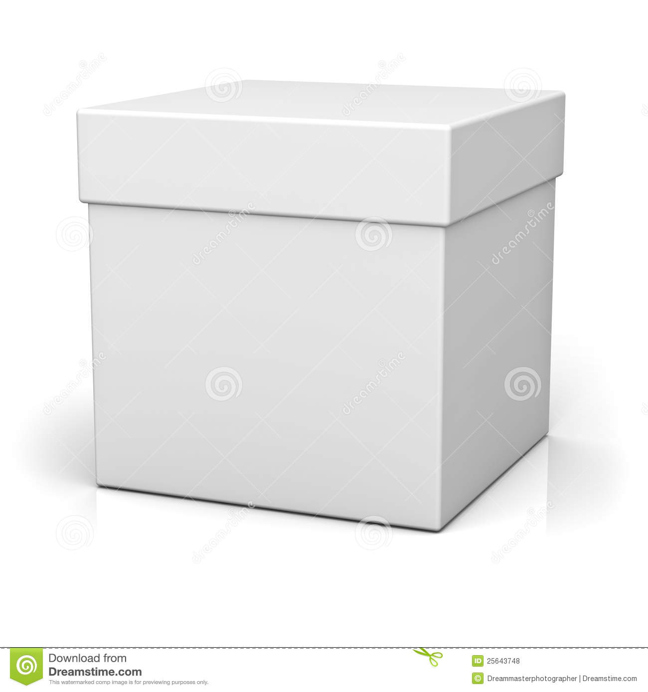 open white box stock photo image of delivery packing 20022364