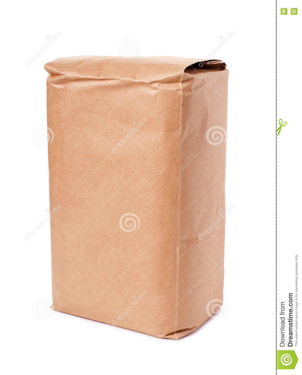 Blank brown craft paper bag stock photo image 80078392 for Brown paper bag craft