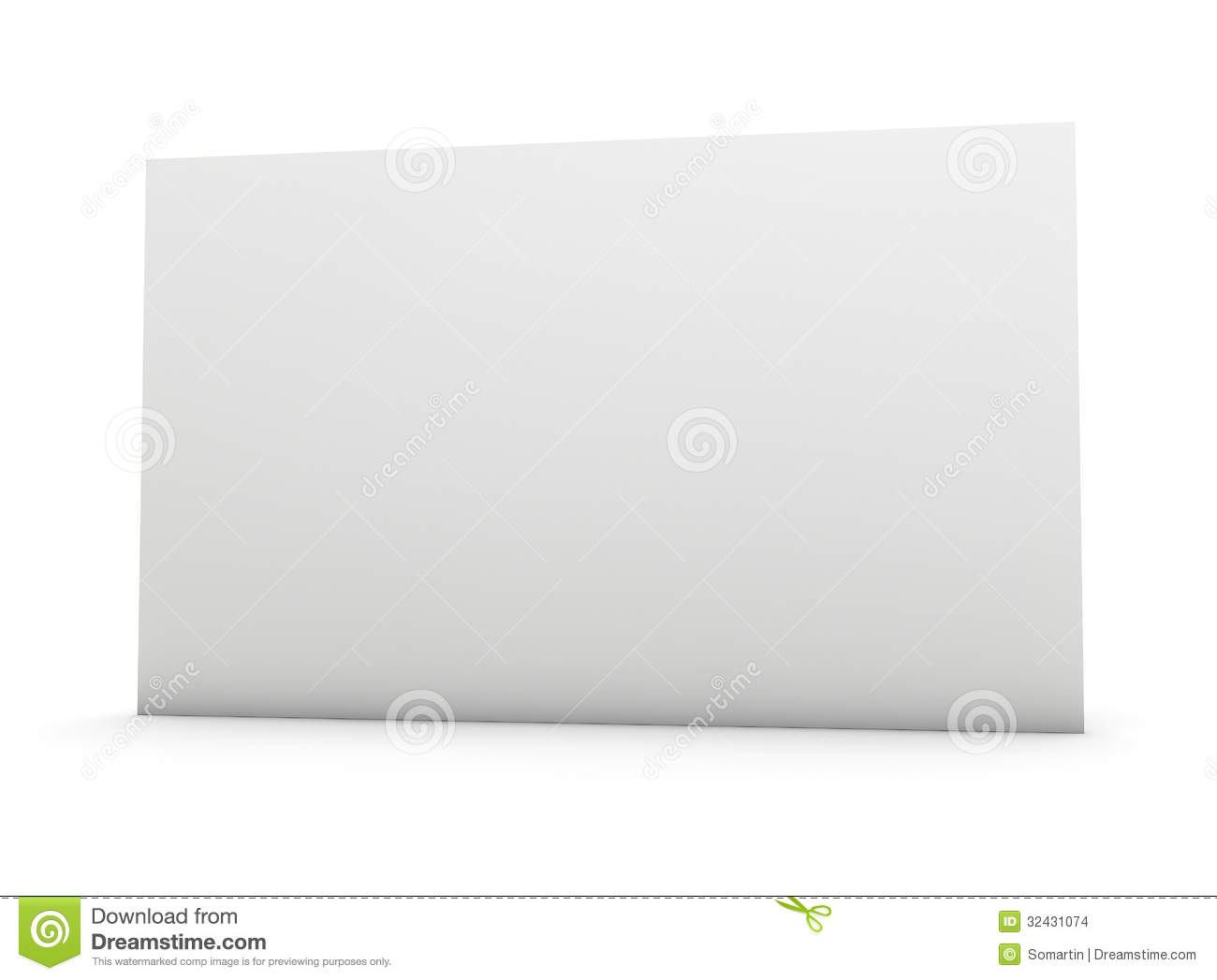 Blank Business Card Stock Images - Image: 32431074