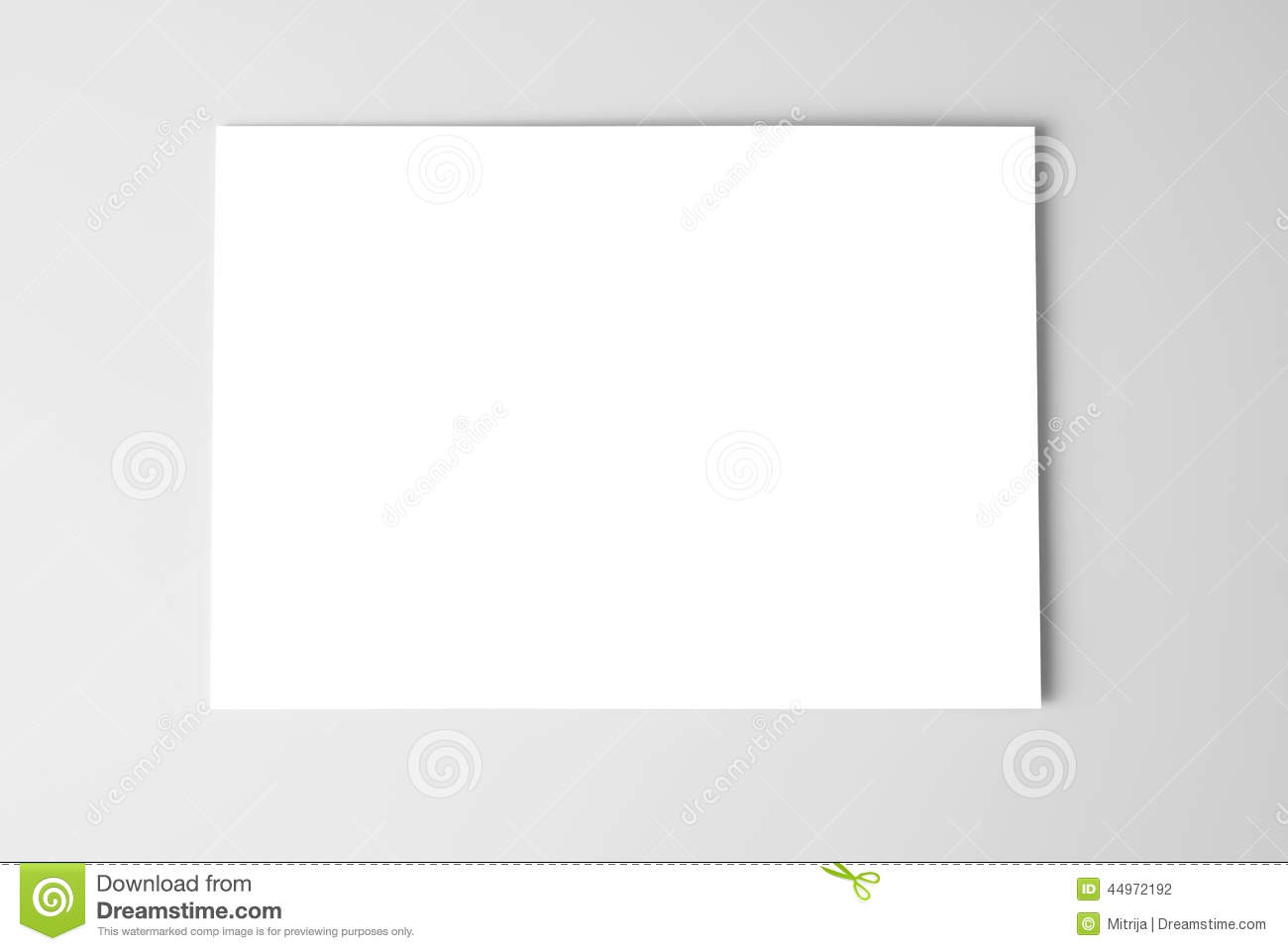 Blank business card or sheet of paper stock illustration download blank business card or sheet of paper stock illustration illustration of business paper colourmoves