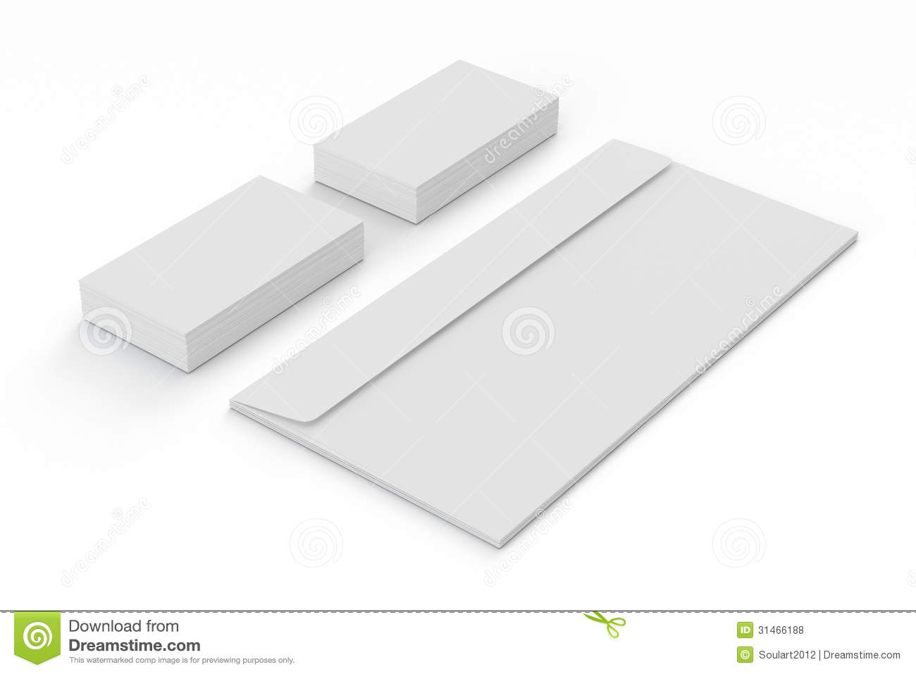 Blank Business Cards And Envelopes Royalty Free Stock Photos ...