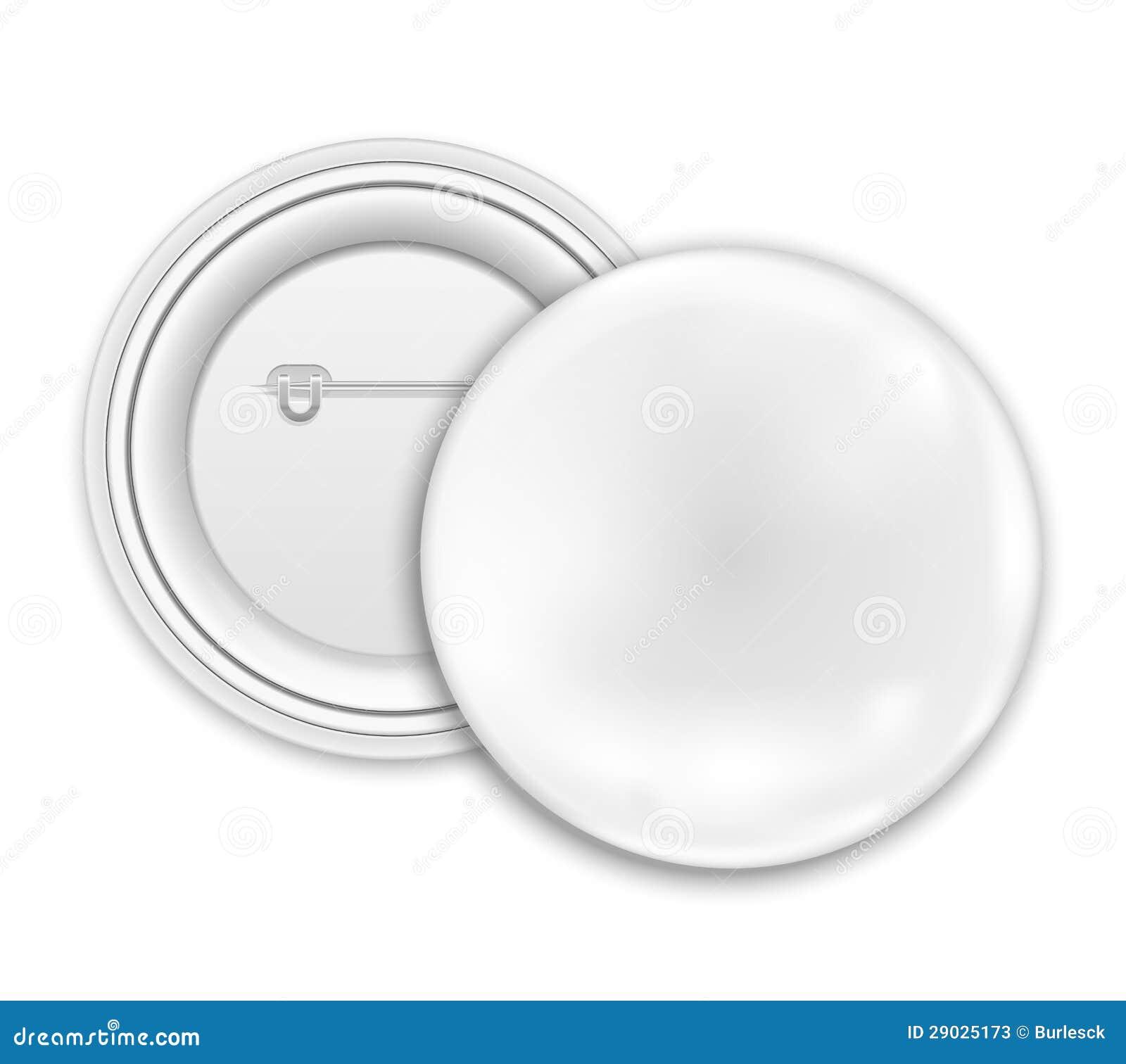 Button Badge Design blank button badge stock photos image 29025173