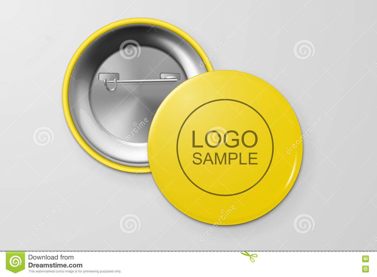 blank button badge stock vector illustration of frame 80453298