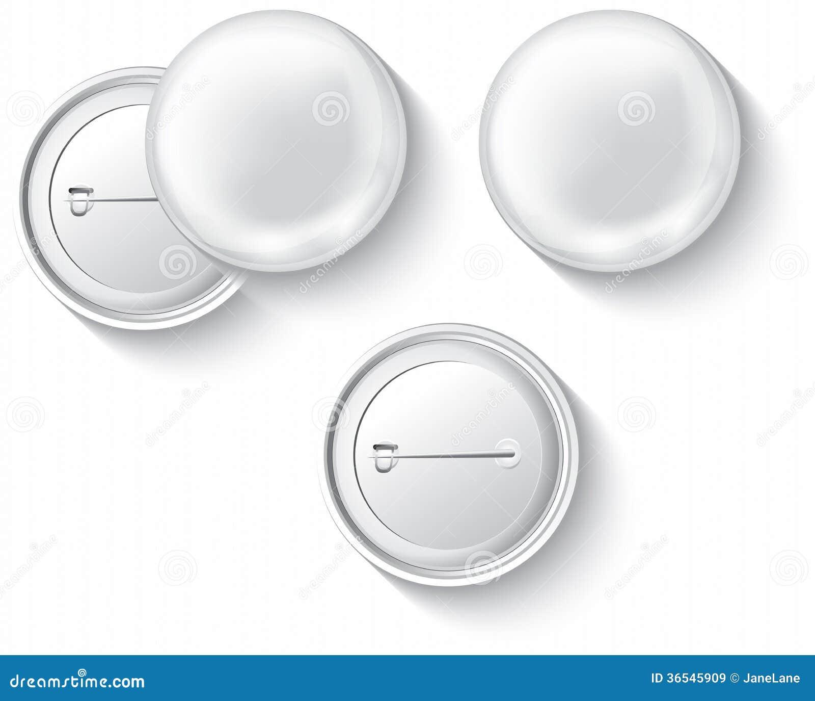 Button Badge Design blank button badge stock illustration image of badges 36545909