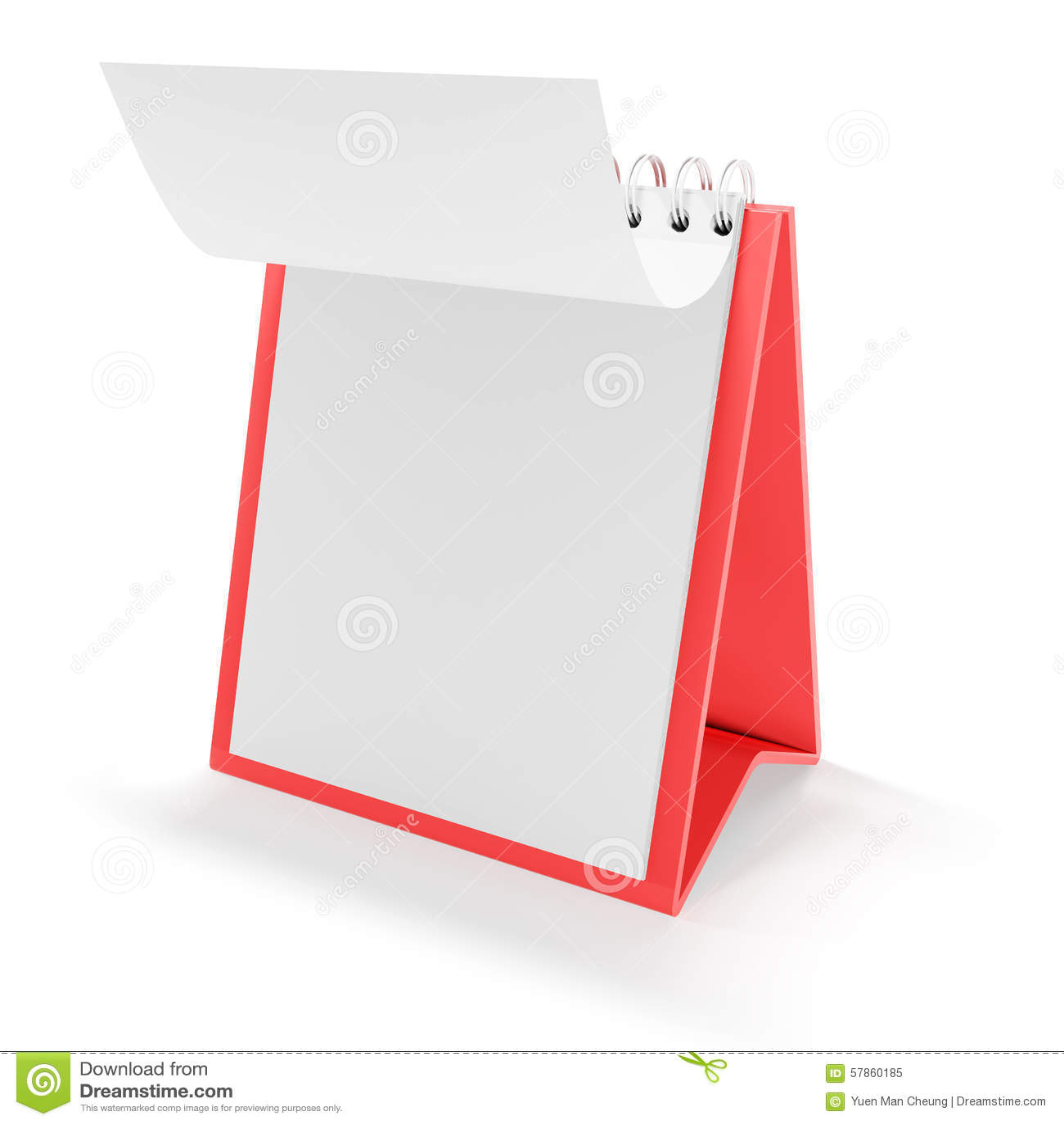 Blank Flip Calendar Clip Art blank calendar stock illustration - image ...