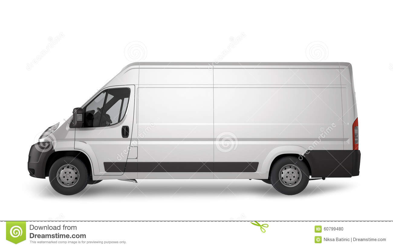 365625e0e0 Delivery Van Mockup stock illustration. Illustration of exterior ...