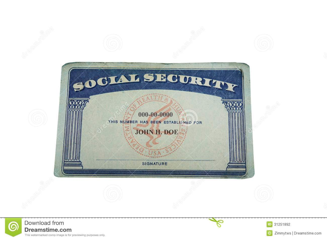 Photo Stock Blank Image Of 31251892 Card Financial Insurance -