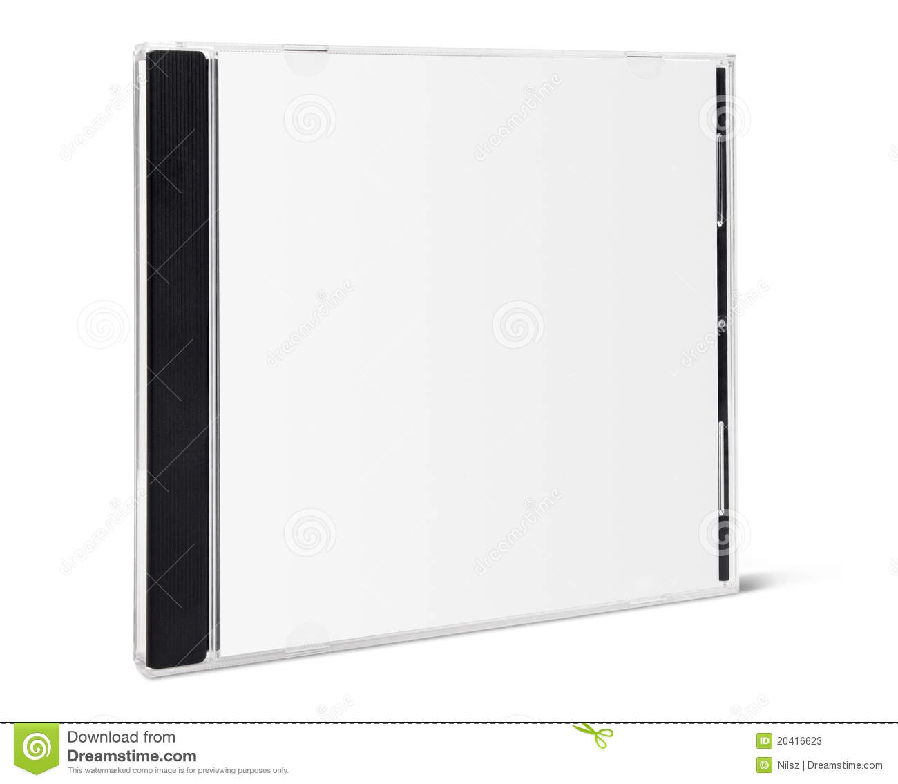 blank cd cover front stock image image of digital label 20416623