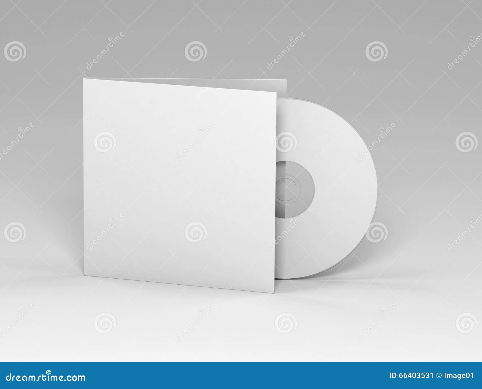 Blank Cd Cover Stock Illustration - Image: 50253304