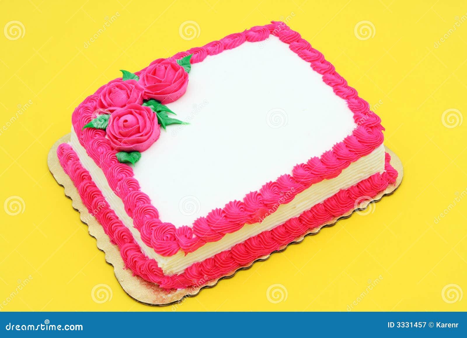 Blank Celebration Cake Royalty Free Stock Photography ...