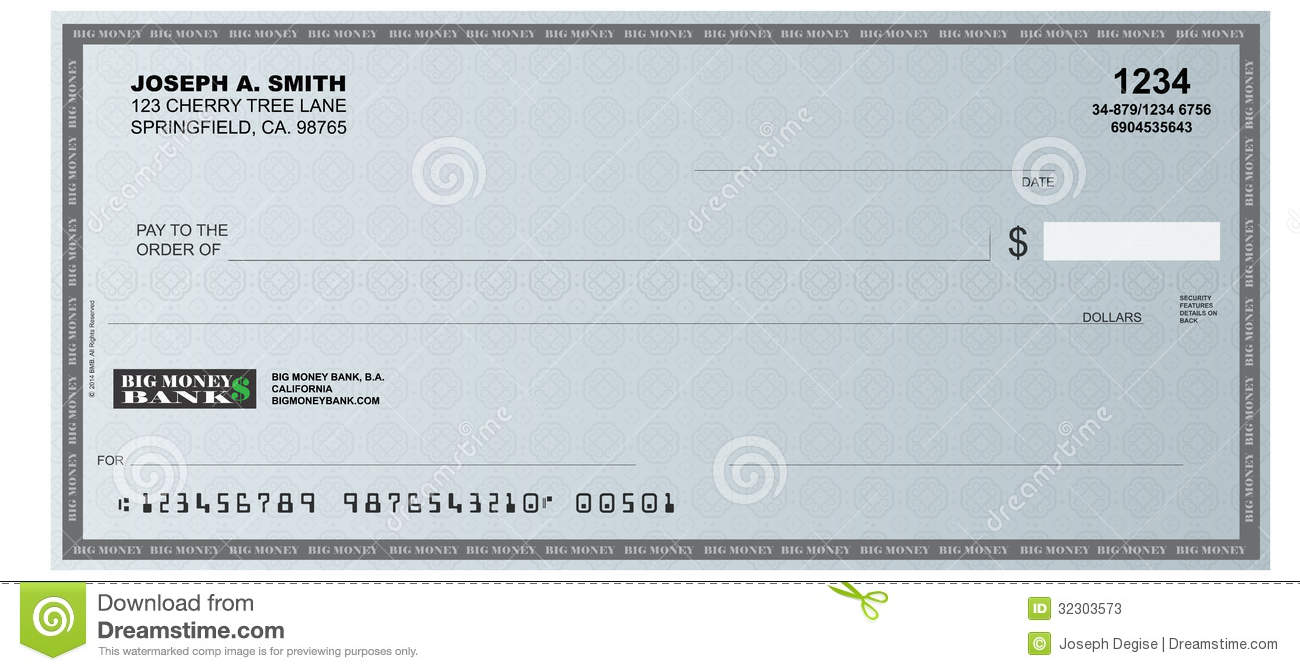how to write a pc financial cheque