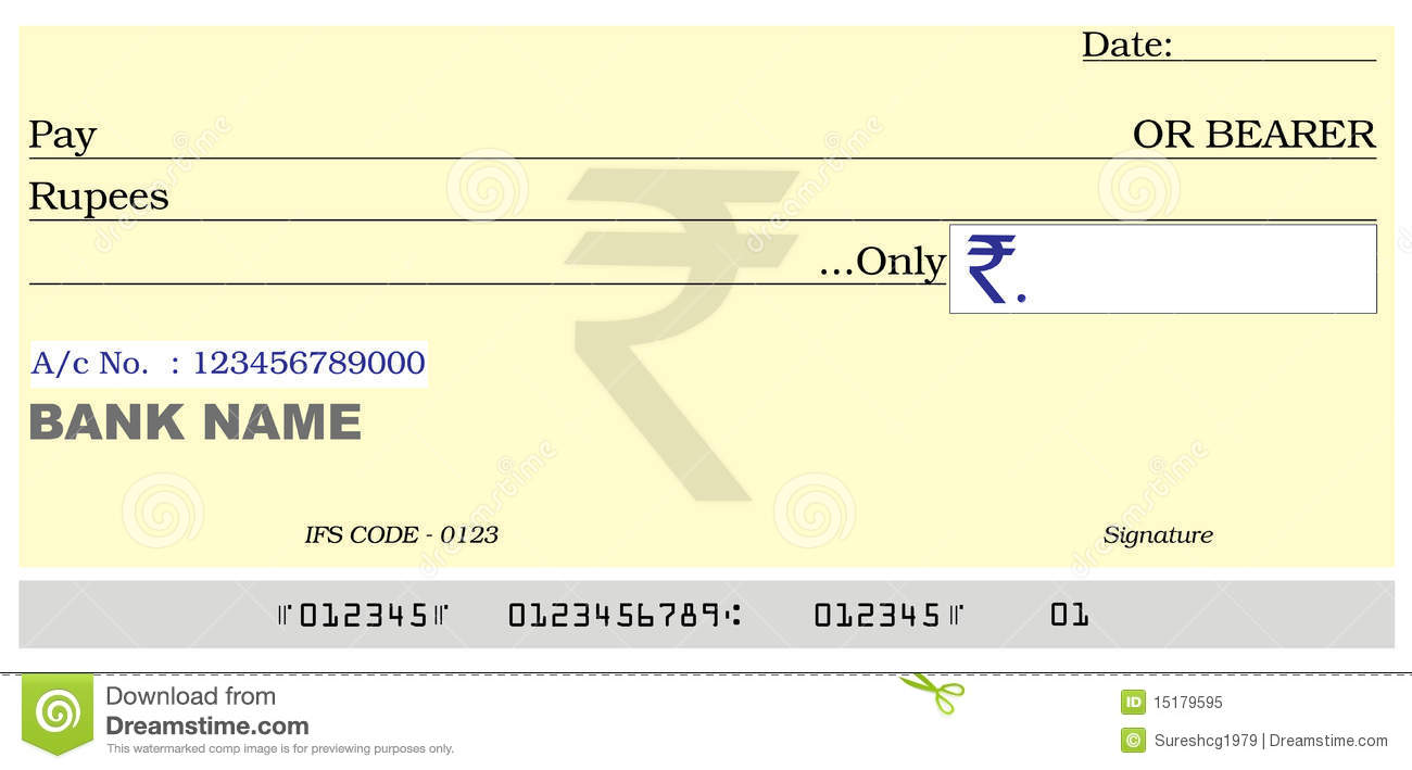 how to read commonwealth cheque