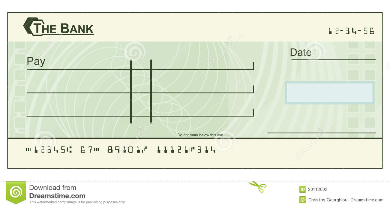 Blank Cheque Illustration Photography Image 20112002 – Blank Cheque Template