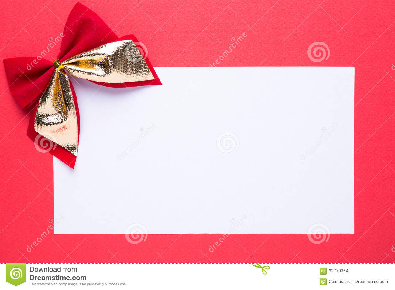 blank christmas card or invitation decorations stock photo blank christmas card or invitation decorations