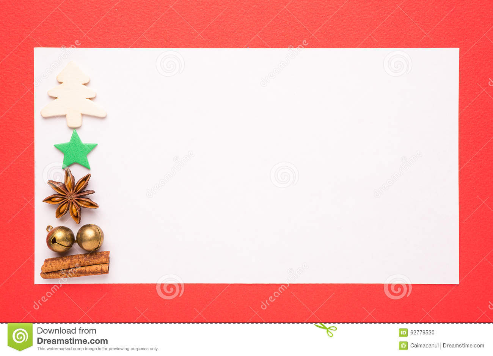 blank christmas card stock photo image of christmas