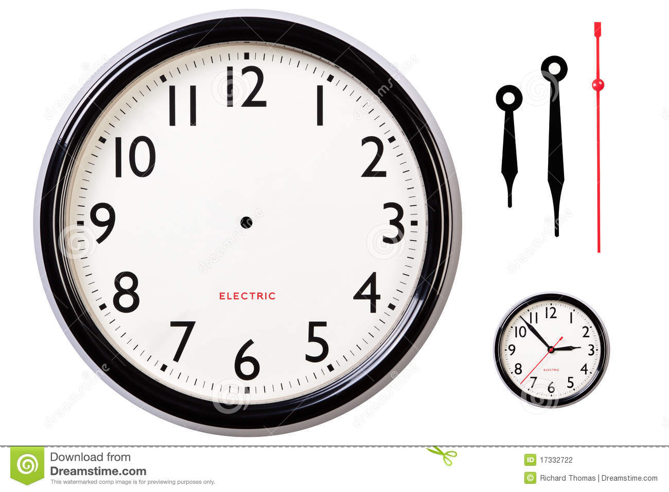 photograph relating to Printable Clock Face With Hands called Blank clock experience and palms inventory picture. Impression of quantities