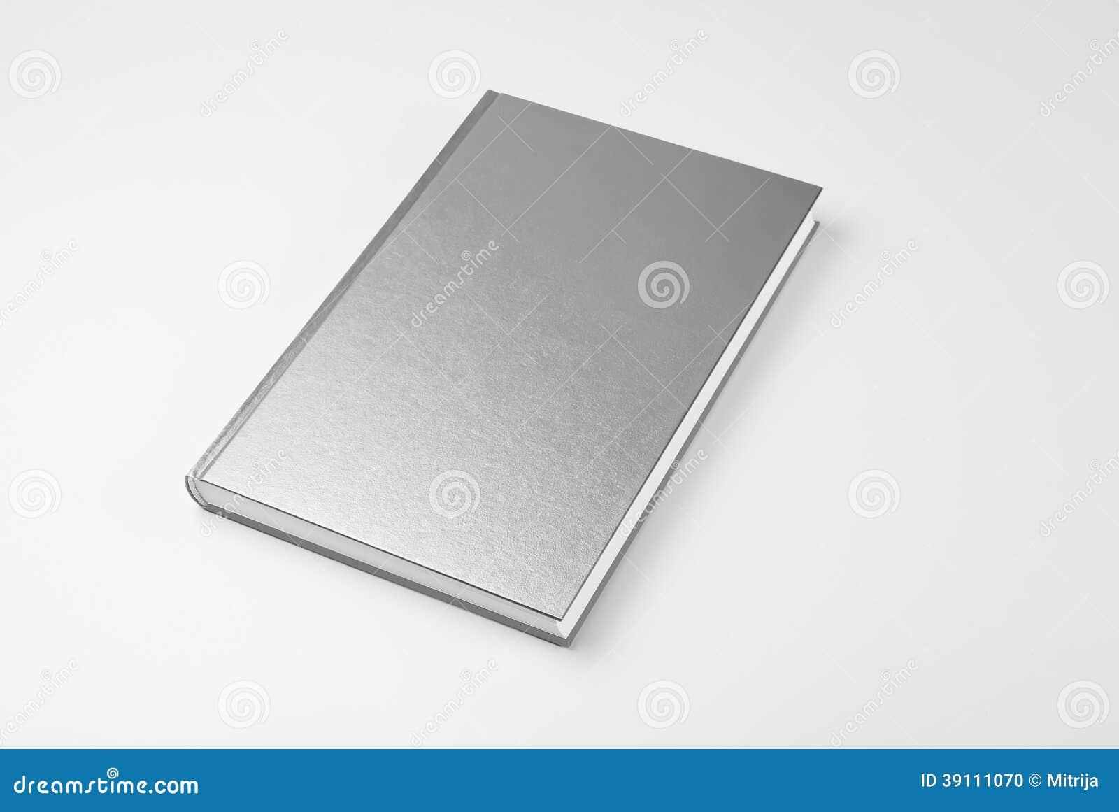 Blank closed book