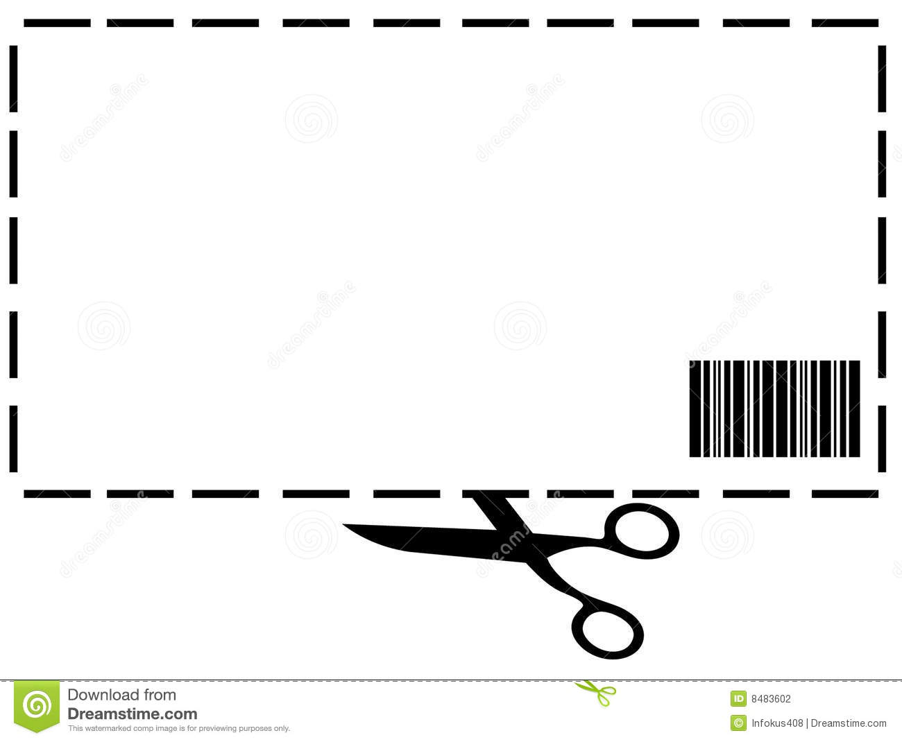 Blank Coupon Stock Illustrations 23 409 Blank Coupon Stock