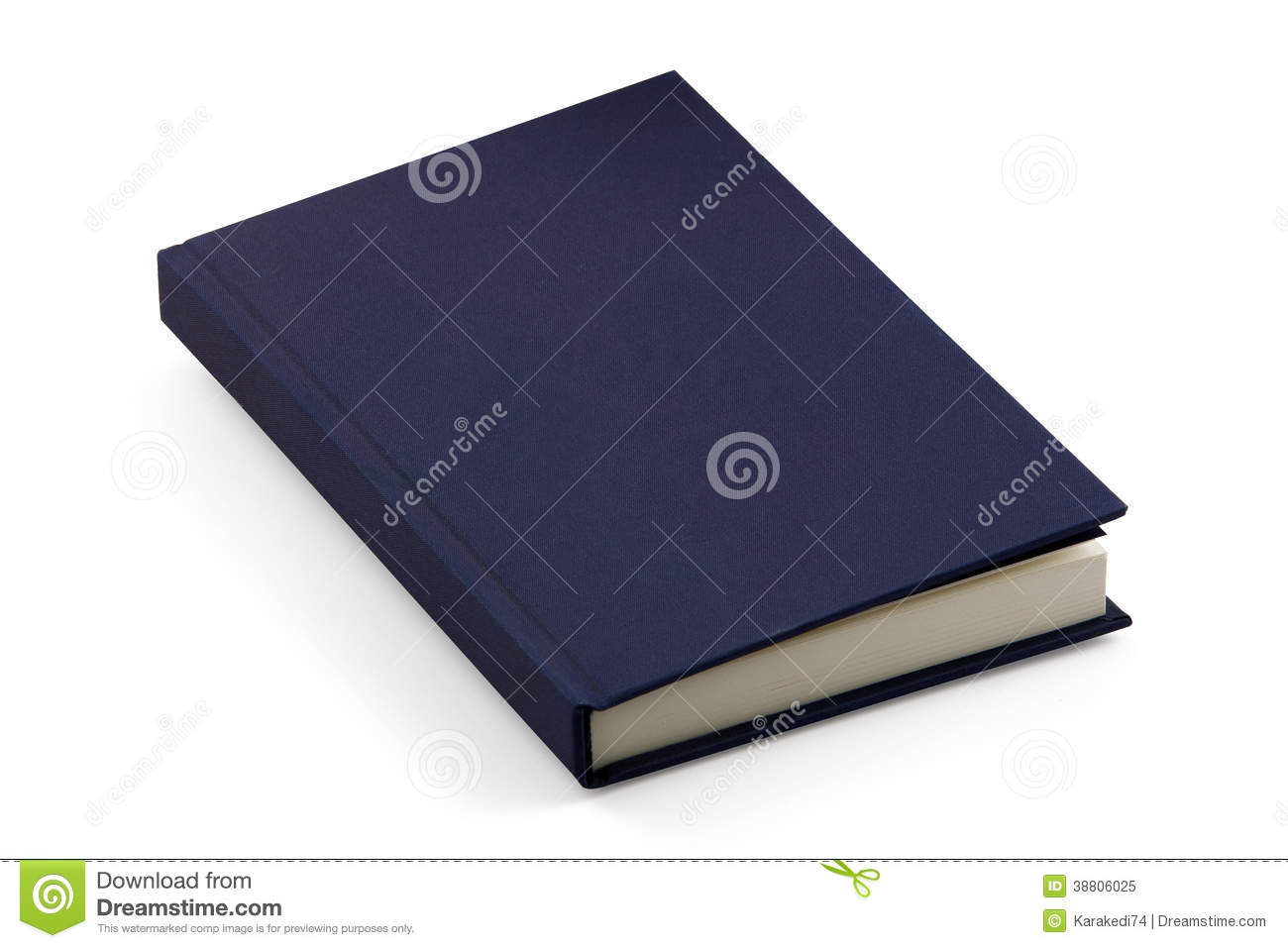 Book Cover White Background : Blank book stock photo cartoondealer