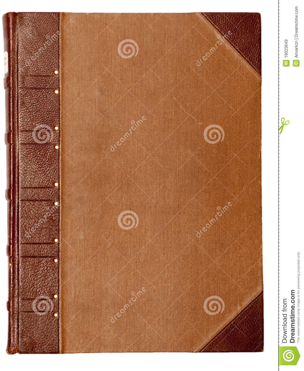 Blank Cover Of An Old Book Royalty Free Stock Images ...