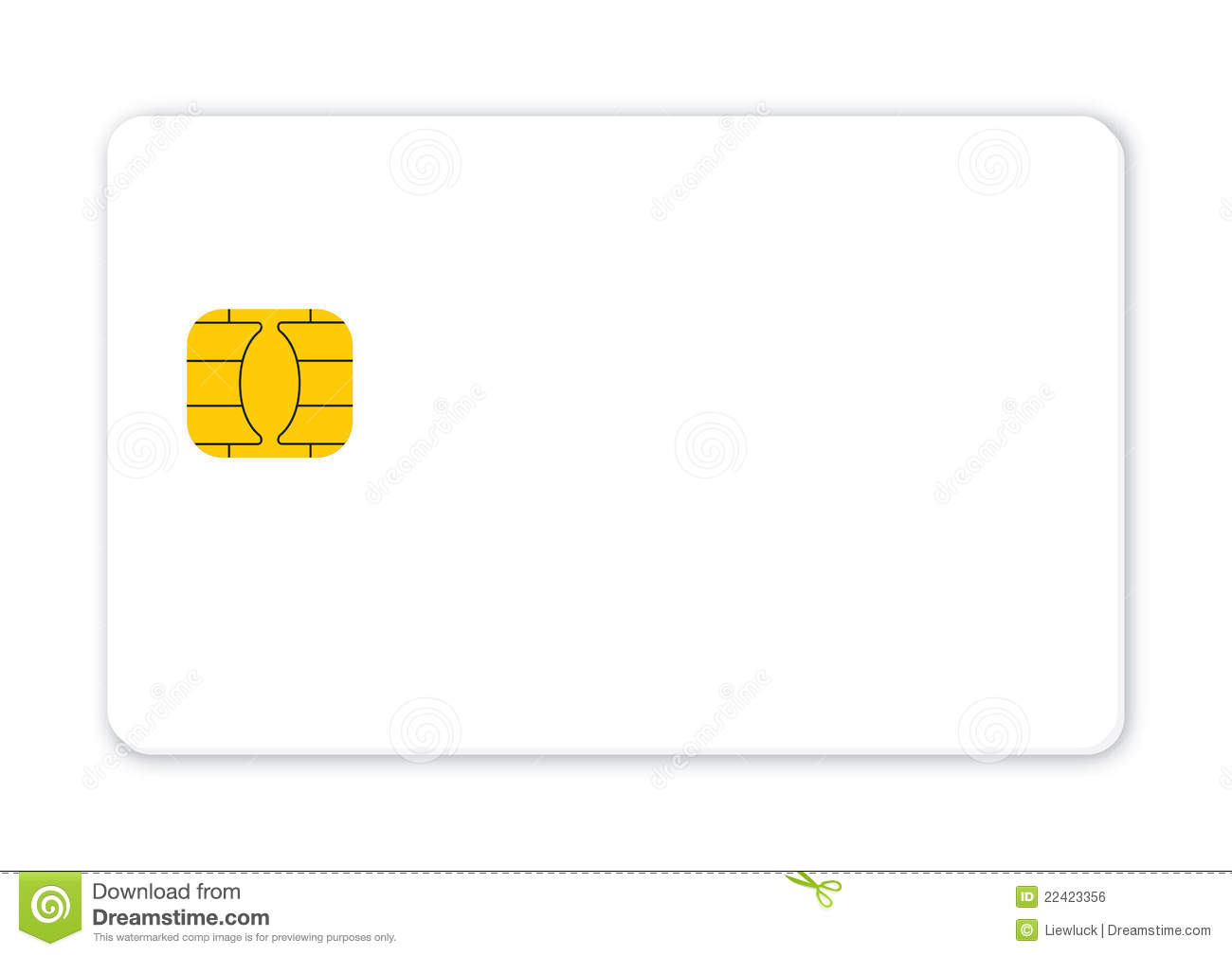 blank credit card isolated vector mr no pr no 2 654 1