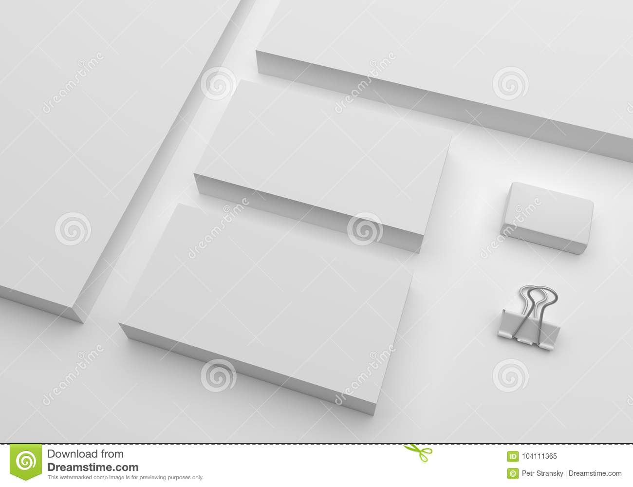 Blank 3d illustration mockup business cards stock illustration download blank 3d illustration mockup business cards stock illustration illustration of gray stationery reheart Image collections