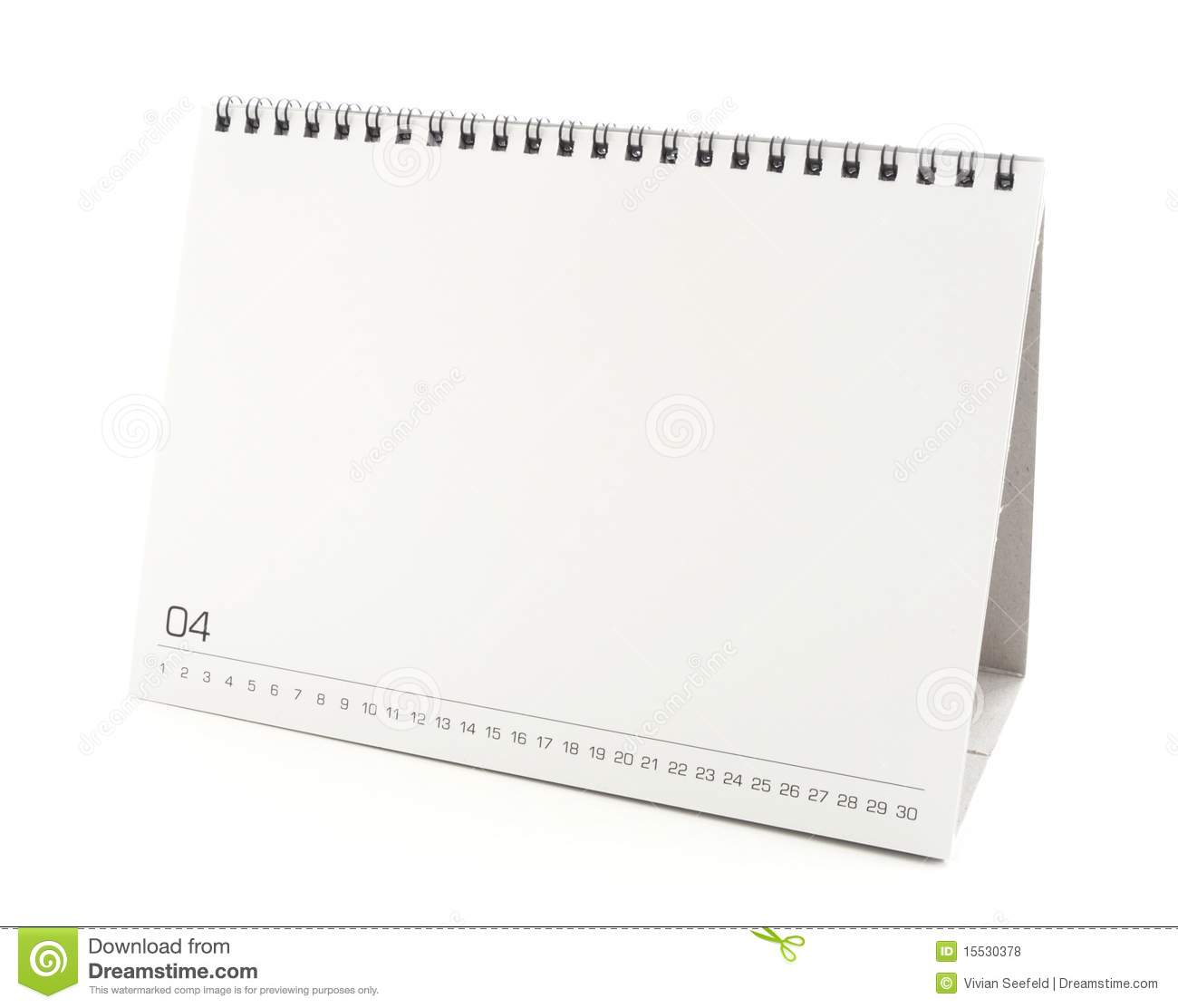 Weekly Calendar Desktop : Blank desktop calendar stock photo image of plan