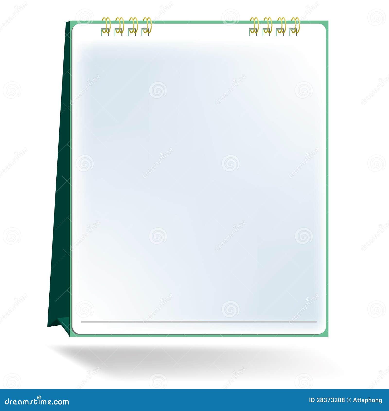 Blank Calendar Vector : Desktop calendar design september stock image