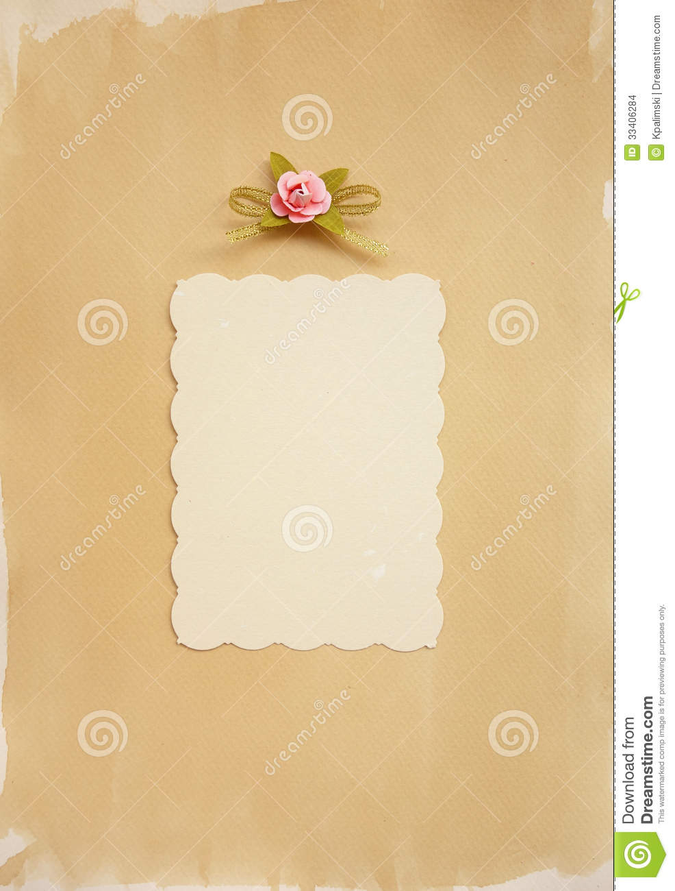 Blank Diary Page Stock Images - Image: 33406284