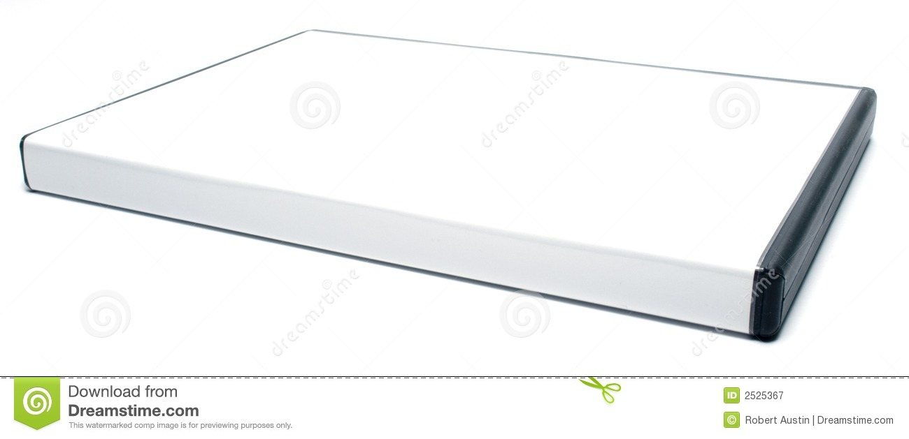 Blank Dvd Case Royalty Free Stock Photography Image 2525367