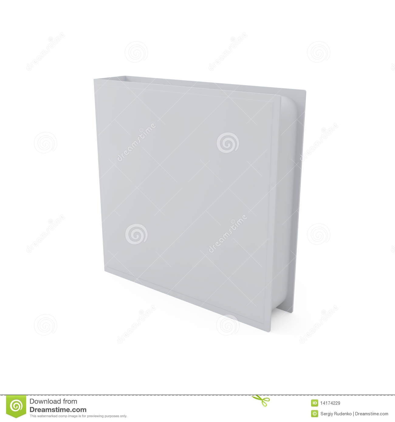 Blank DVD Cover Isolated On White Royalty Free Stock Images ...