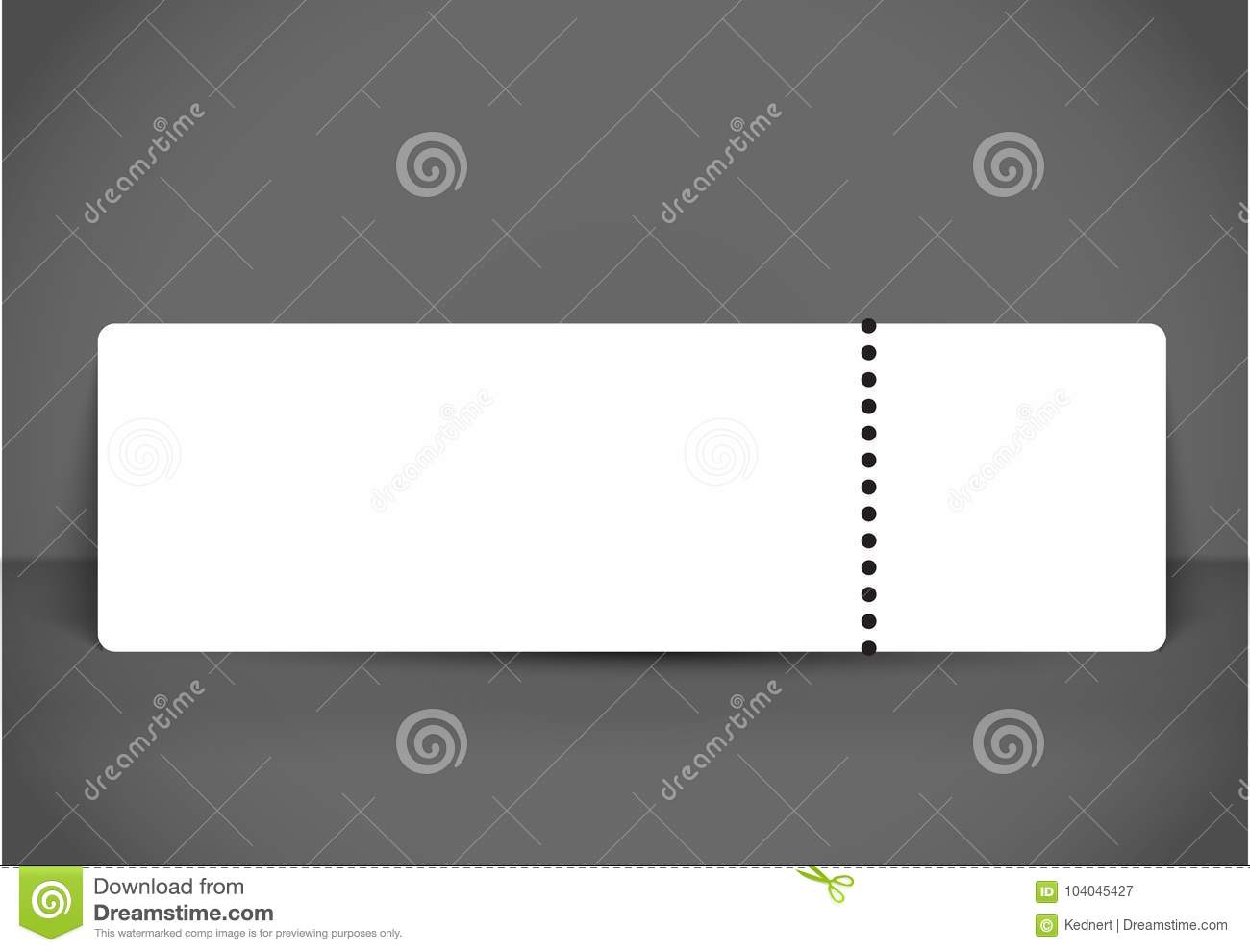 blank event concert ticket mockup template  concert  party