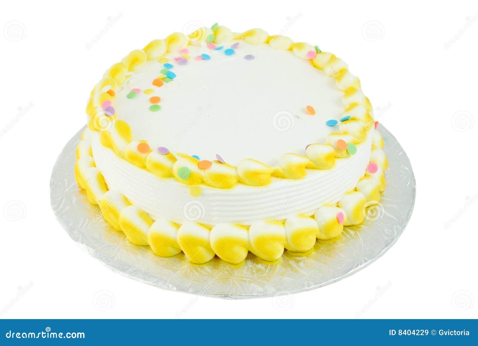 Blank Festive Cake Royalty Free Stock Images - Image: 8404229