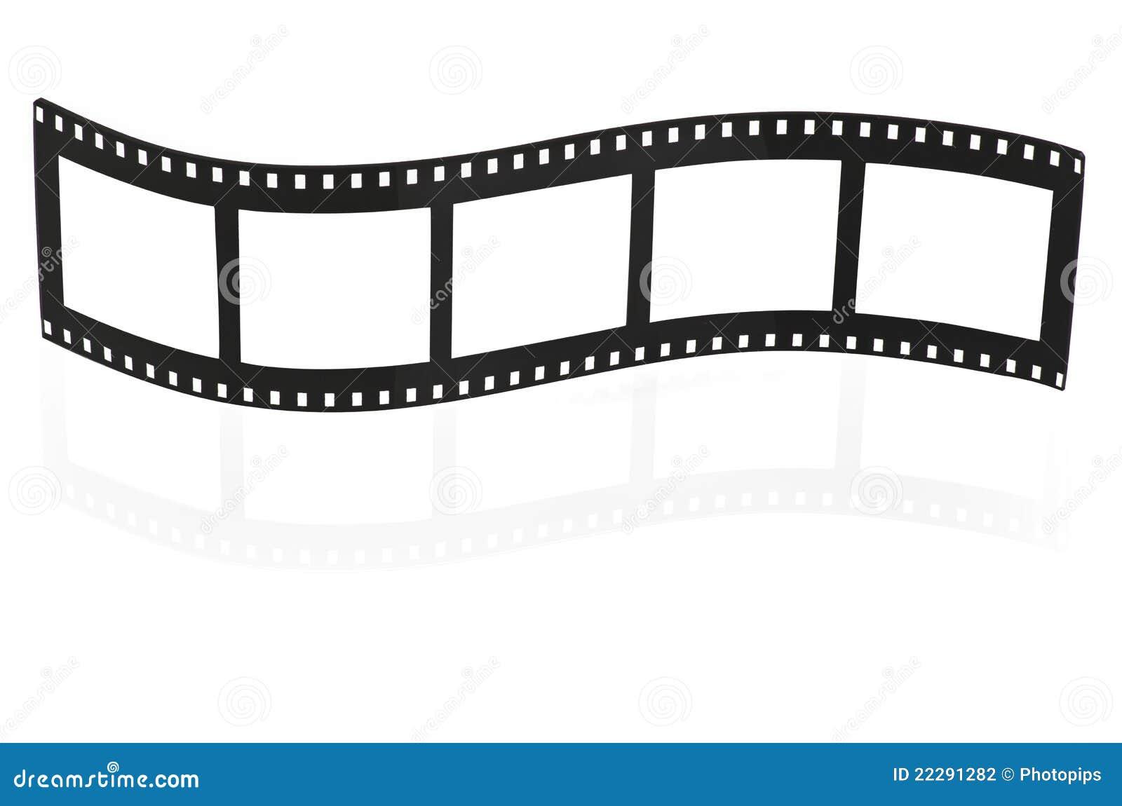 Blank Film Strip Stock... Hollywood Lights Border