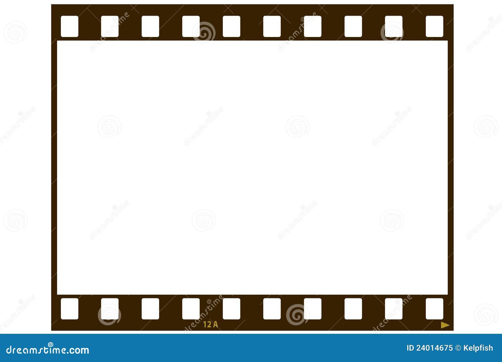 Blank Film Strip Royalty Free Stock Photo Image 24014675