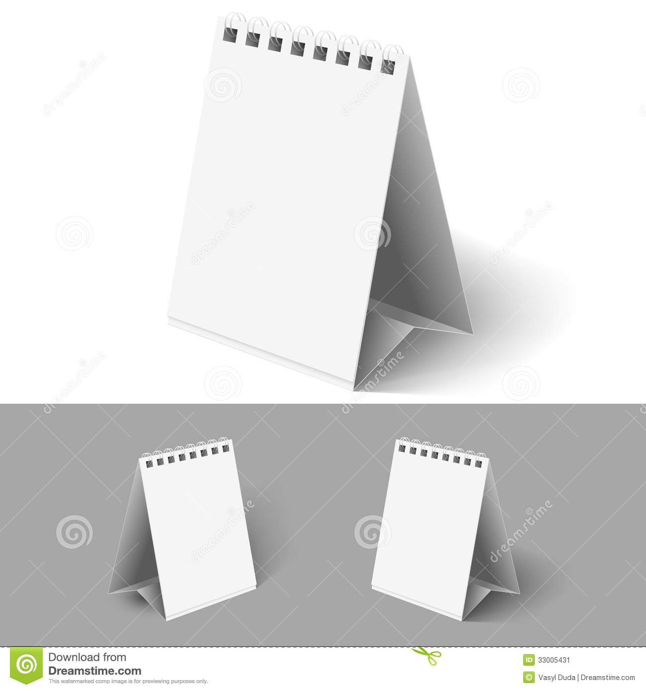 Blank Flip Calendars Stock Vector Illustration Of Note - Flip this table flip that table