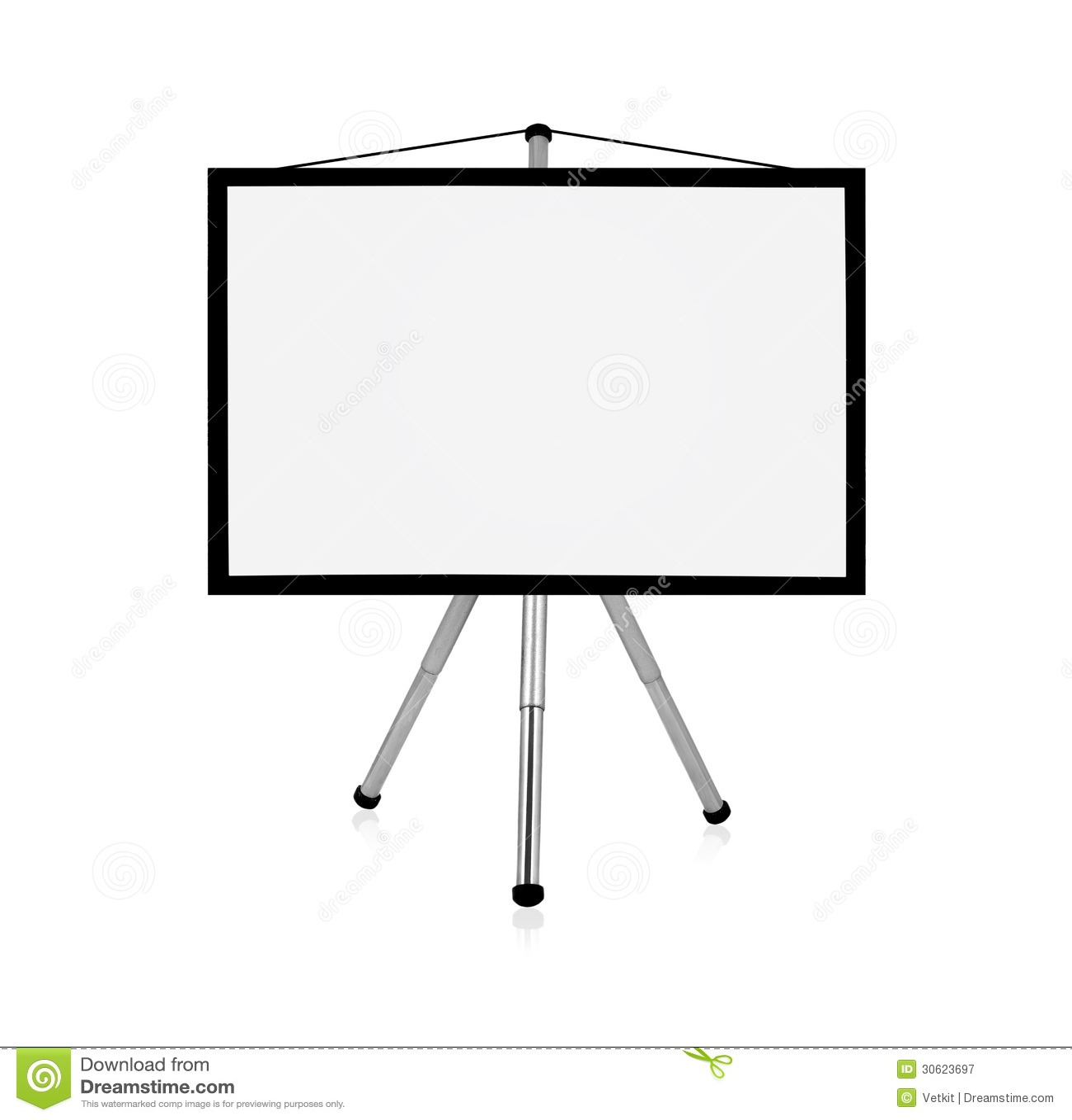 Blank Flip Chart Stock Image Image Of Education Workshop