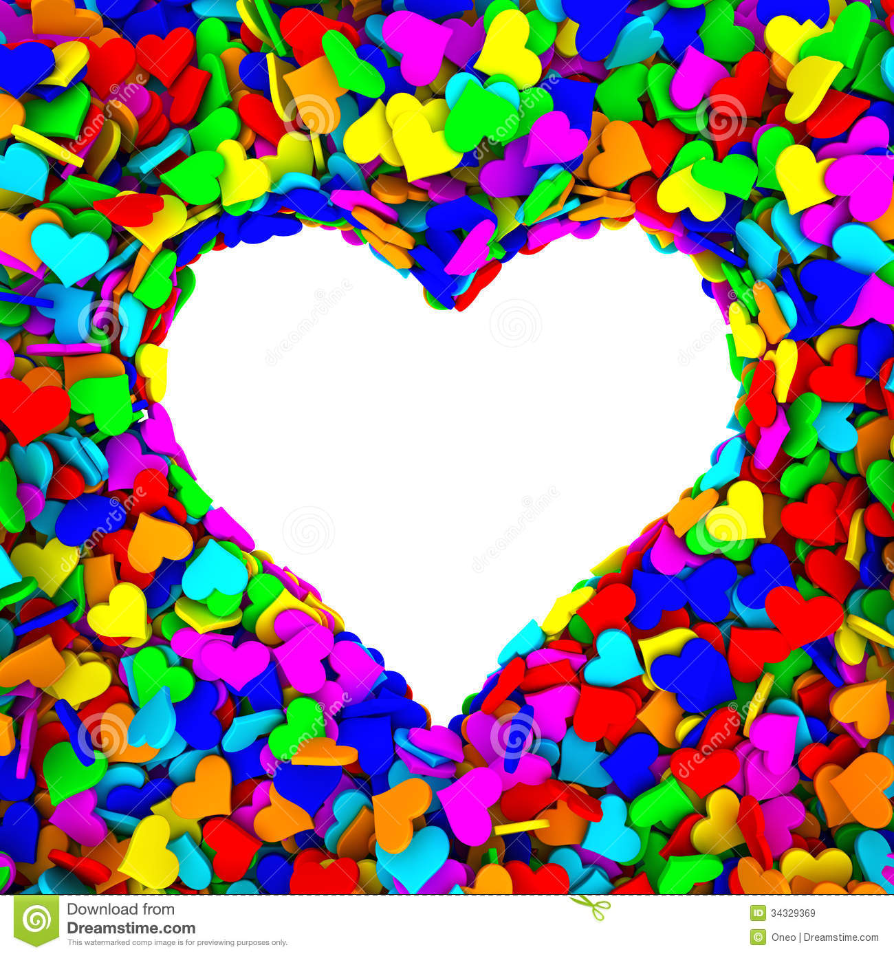 Blank frame of heart shape composed of many small colorful hearts blank frame of heart shape composed of many small colorful hearts thecheapjerseys Gallery