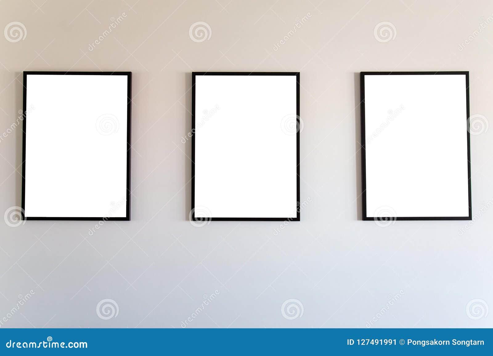 Blank frame mock up.