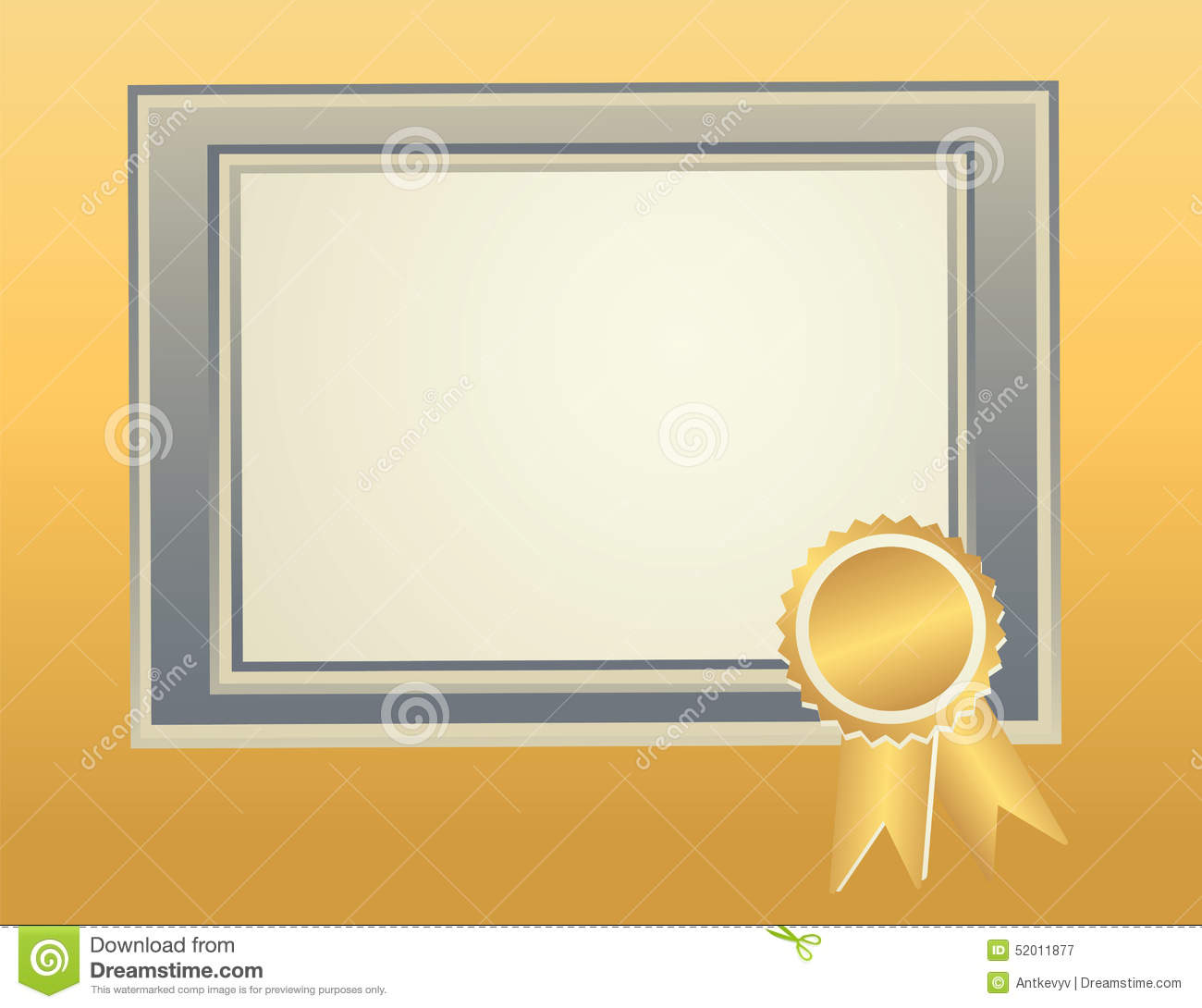 blank frame template stock vector  image of blank  awards