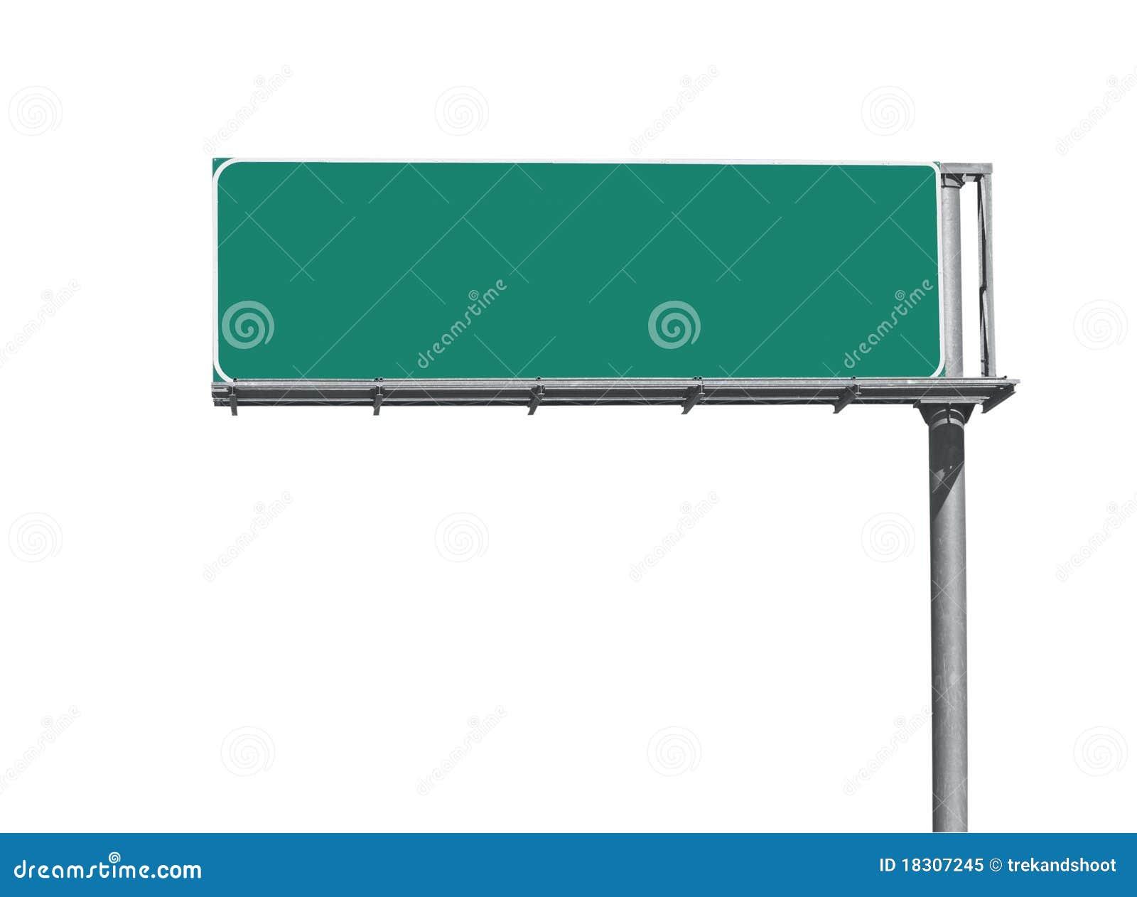 blank freeway sign stock image image of freeway blank