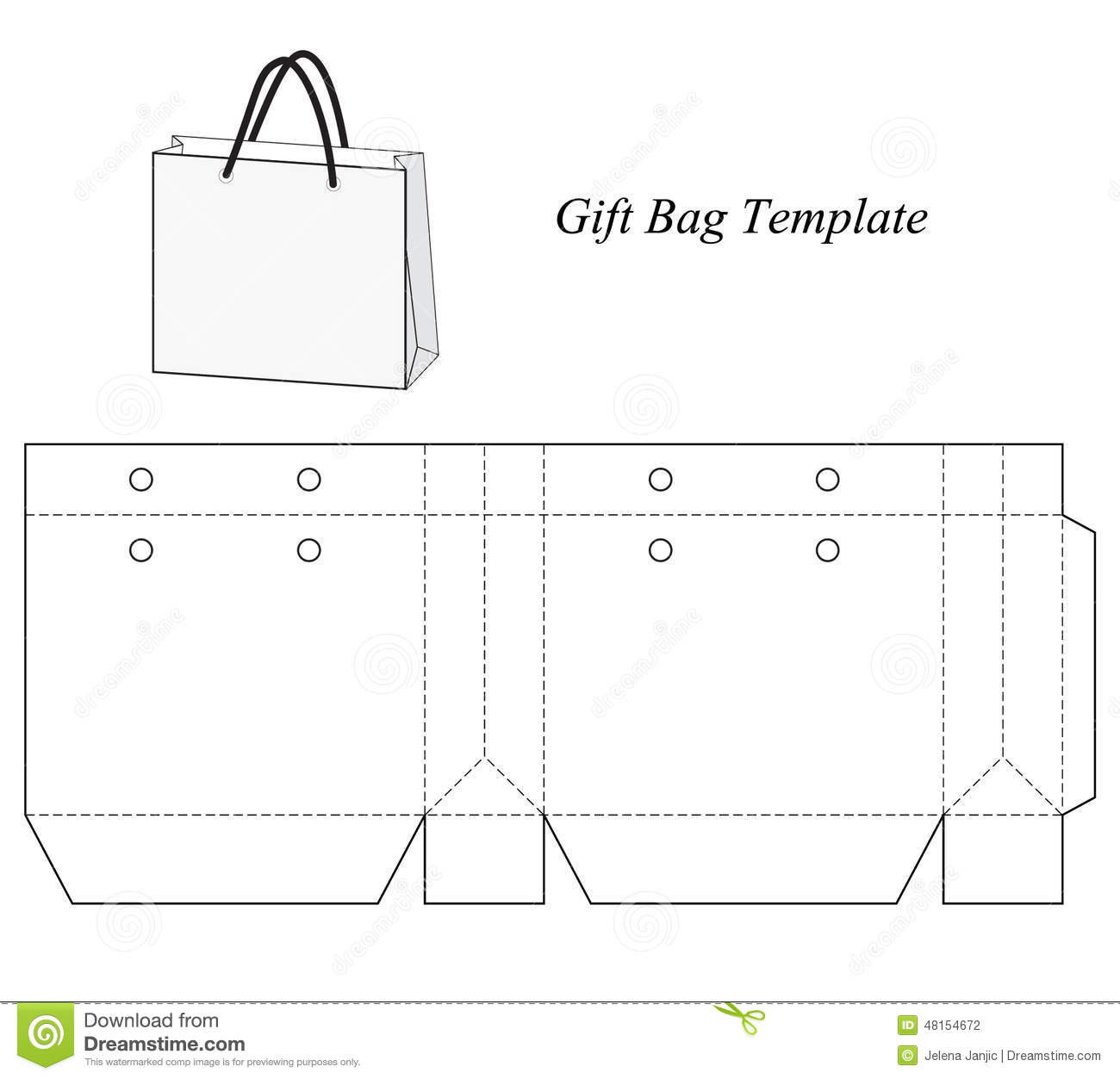 Search results for template for gift envelope calendar for Goodie bag tag template