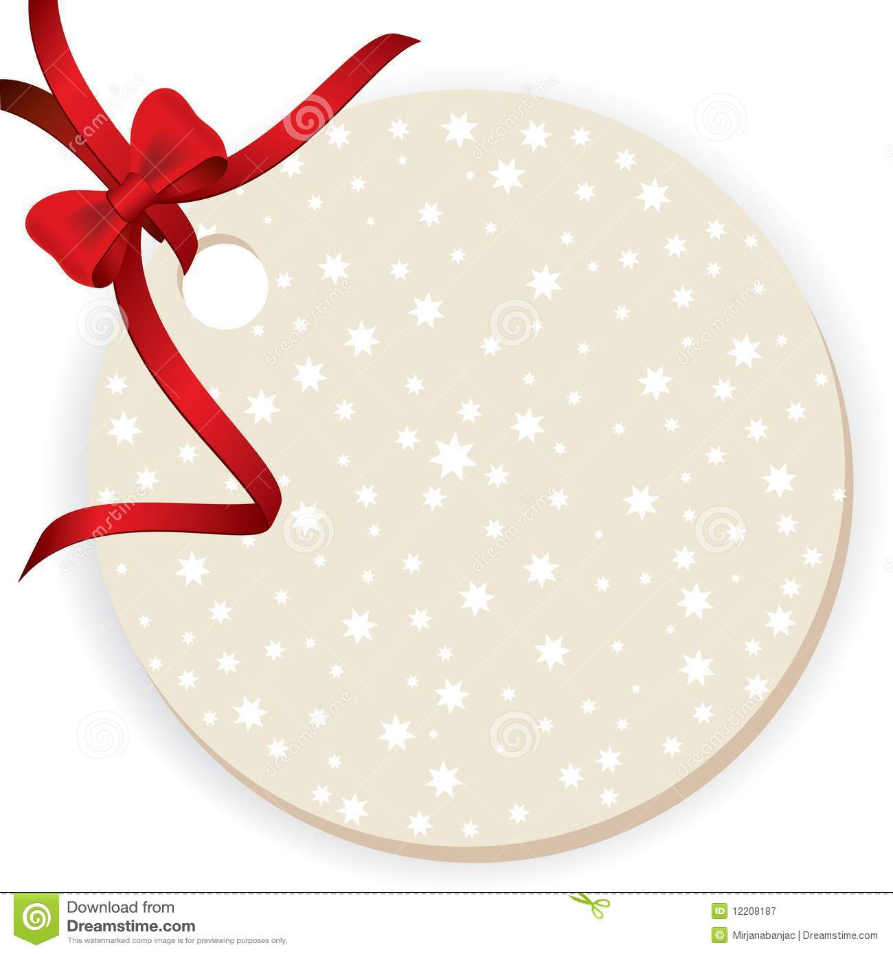 Blank Gift Tag Royalty Free Stock Photography - Image ...