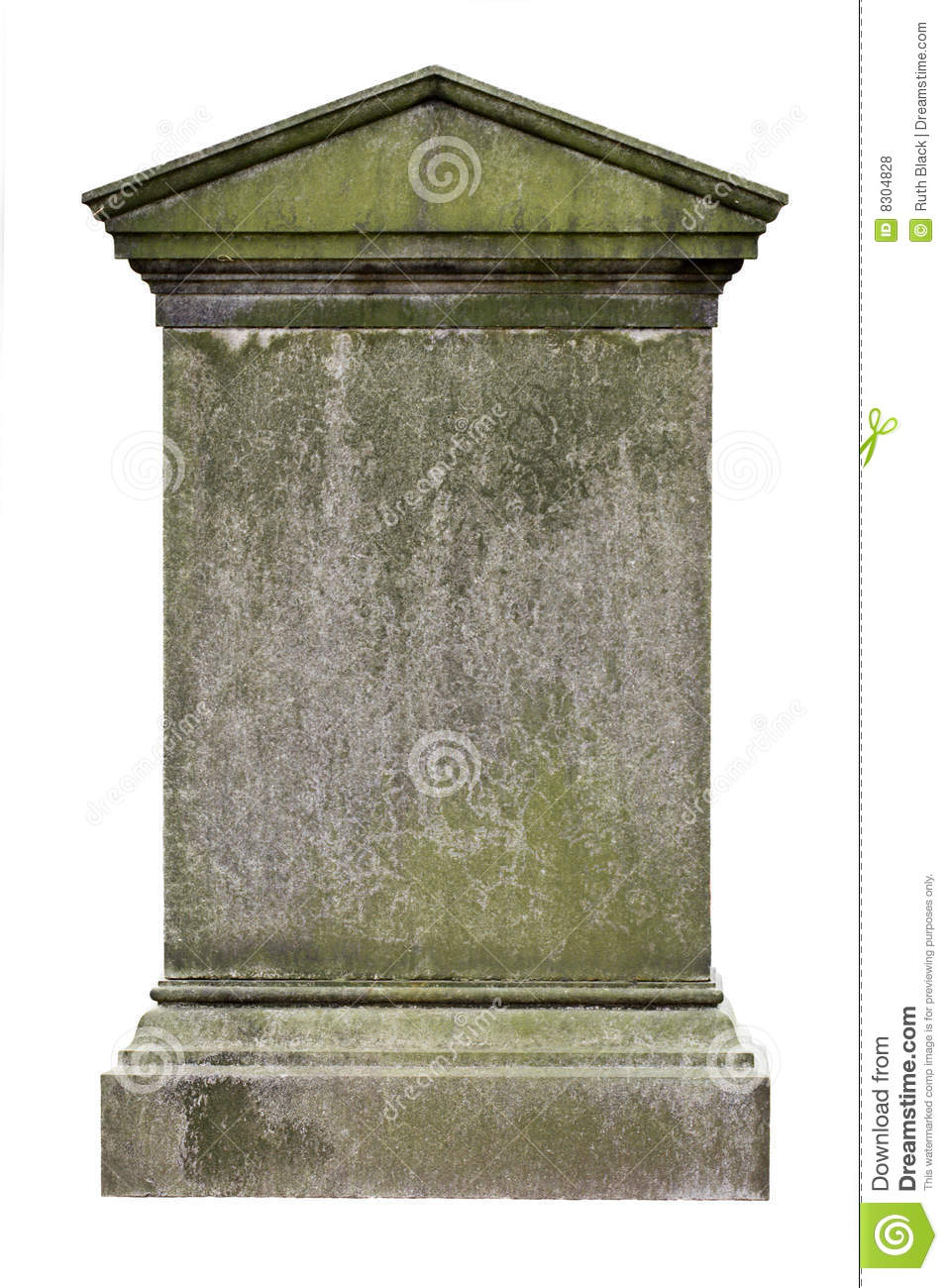 blank gravestone stock photo image of monument stone