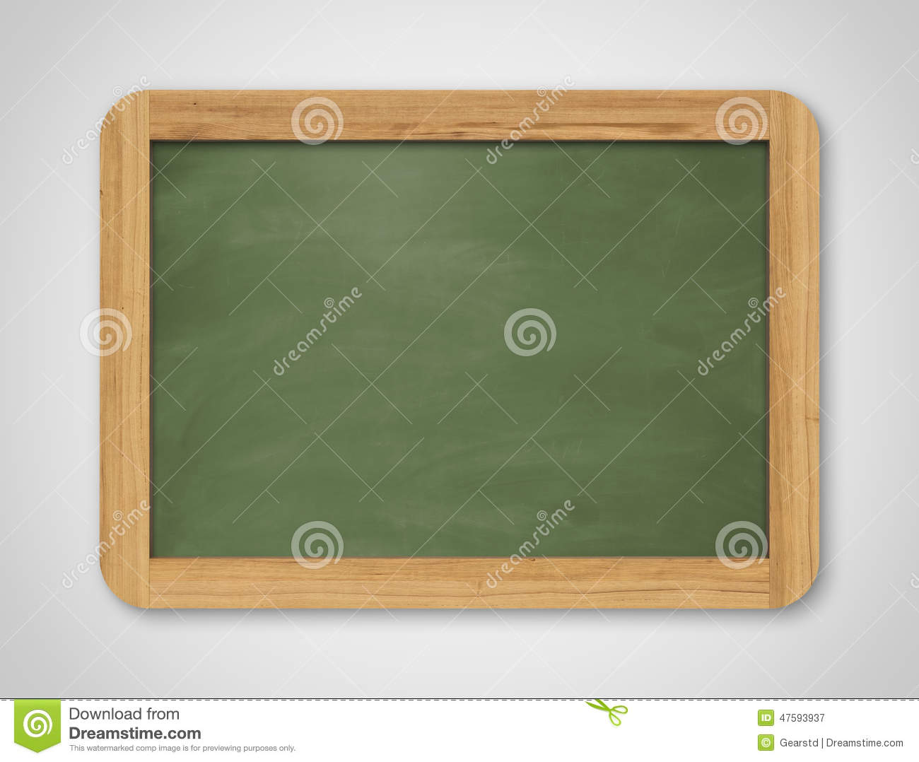 Download Blank Green Chalkboard Background And Texture Stock Image
