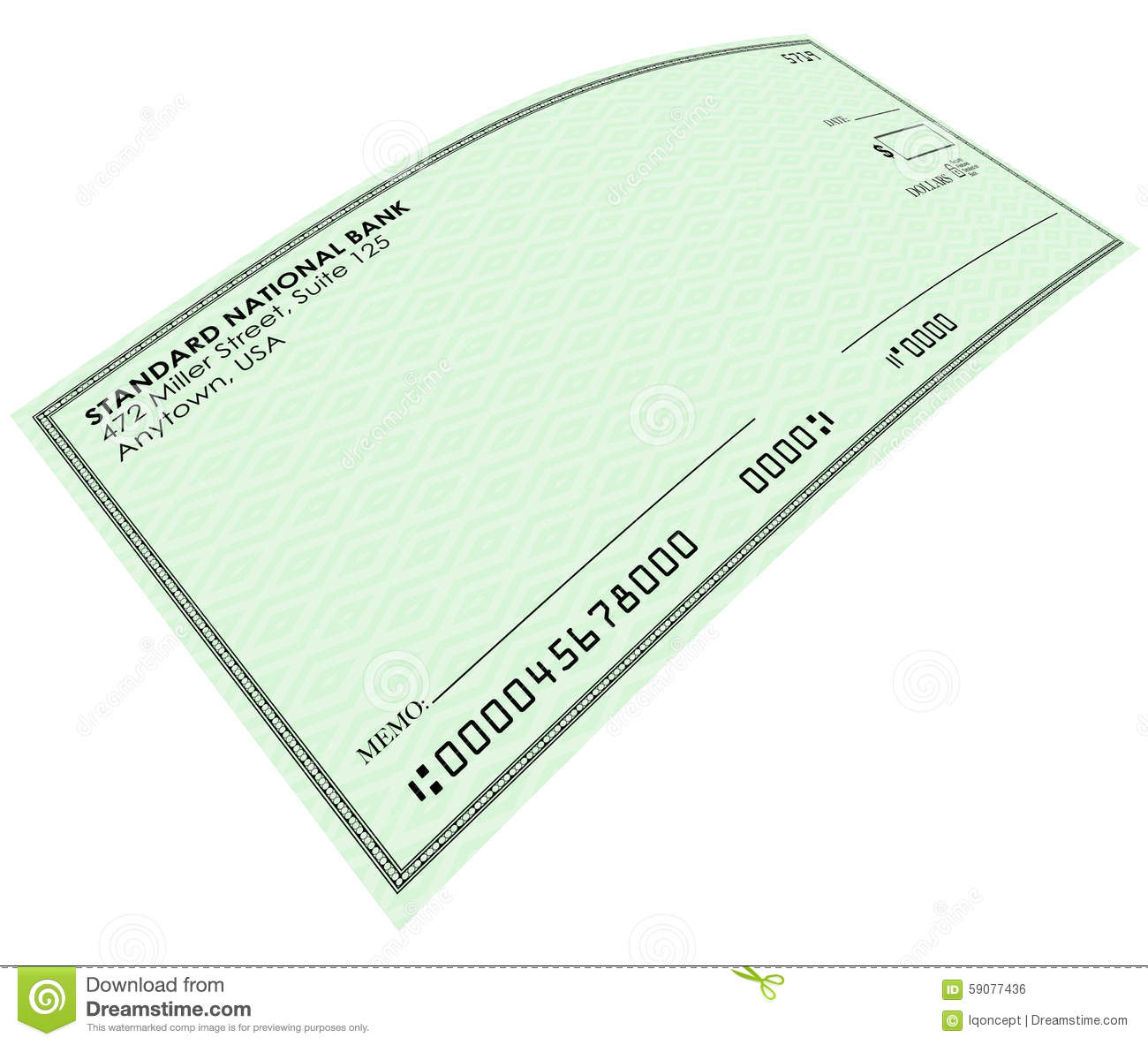 Blank Check Stock Illustrations – 7,385 Blank Check Stock ...