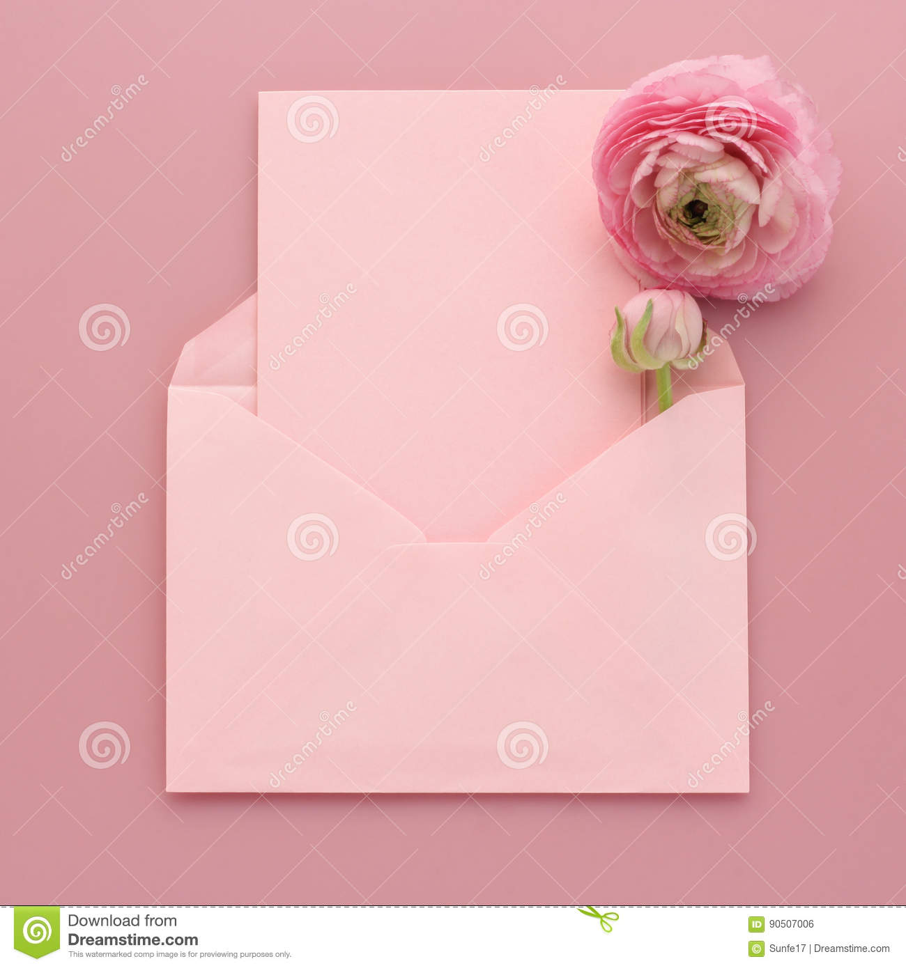 Blank greeting card with envelope stock photo image of envelope blank greeting card with envelope kristyandbryce Gallery