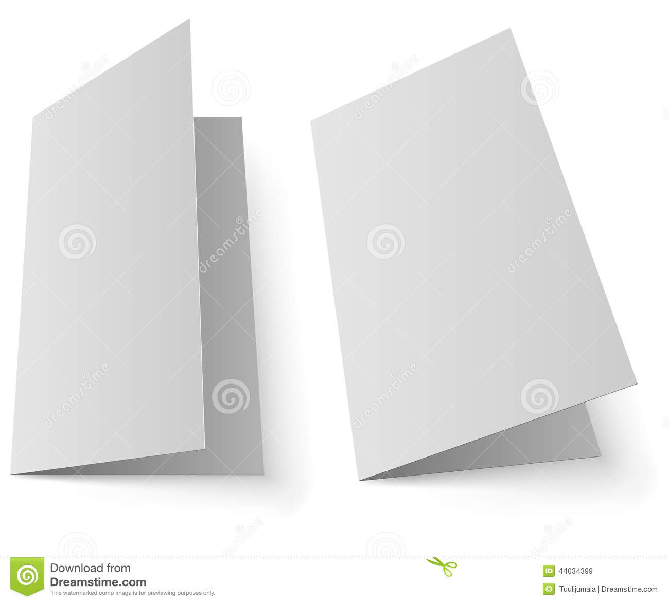 Blank Greeting Card Stock Vector Illustration Of Corporate 44034399