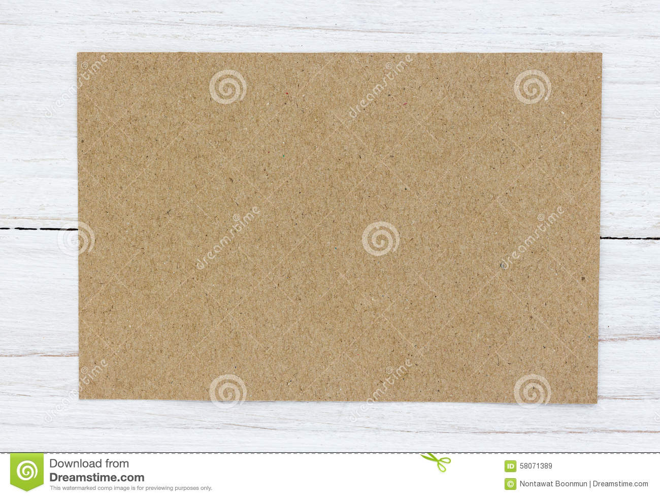 Blank Greeting Card Stock Photo 58071389 Megapixl