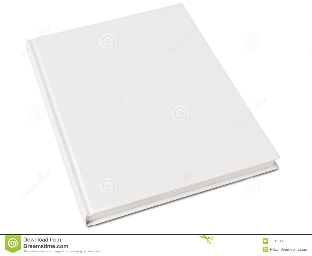 Hardcover Book With Pictures : Blank hardcover book stock photo image of template